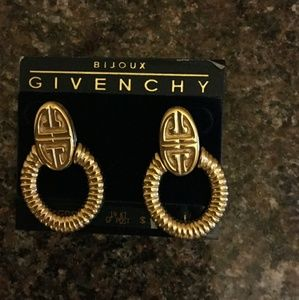 Givenchy Jewelry - Givenchy Gold earrings